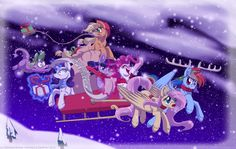 Merry Christmas! - 2012 by InuHoshi-to-DarkPen.deviantart.com on @deviantART