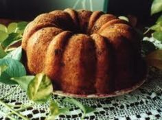 Mom McGee's Black Walnut Pound Cake ~ Be still my heart...this is yummy!