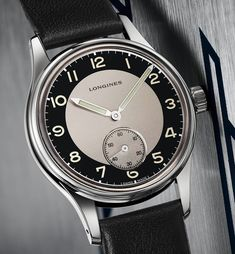 "*Blog Update - Read iN!* #Longines Heritage Classic ""Tuxedo""  Available iN 38.5mm Time-Only & 40mm Chronograph"