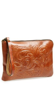 Patricia+Nash+'Tooled+Cassini'+Wristlet+available+at+#Nordstrom