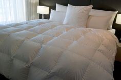 Baffle Boxed Super King Size Quilt/Doona 95% Hungarian Goose Down 4 Blanket Warmth - Our price: $349.00, Market price: $599.00
