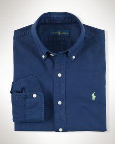 Surf-Wash Oxford Shirt - Polo Ralph Lauren Sale - RalphLauren.com
