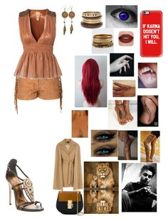 """""""🦁👸🏽"""" by lumsdenk on Polyvore featuring Glamorous, Jeane Blush, Occhi Verdi, BKE, American Coin Treasures, Matchless, Casetify, Chloé, Giuseppe Zanotti and Coast"""