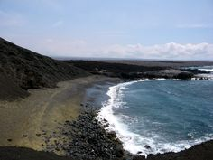 : Monterrico, Guatemala black sand beach. Maybe someday.