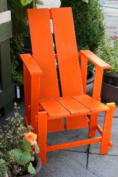 Orange Adirondack~