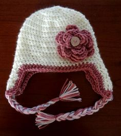 Super cute baby crochet beanie