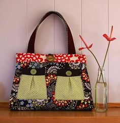Melly & Me Black Forest Bag Sewing Pattern