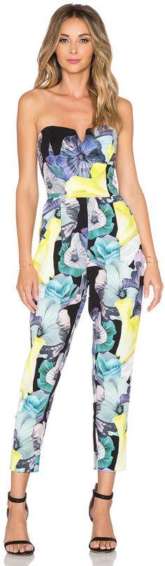 Bardot Floral Jumpsuit