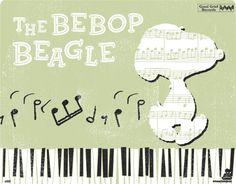 Peanuts the Bebop Beagle
