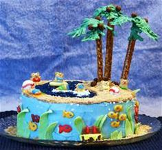 beach cake - Bing Images