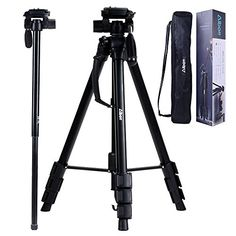 Albott 70 Inch Digital SLR Camera Aluminum Travel Portable Tripod Monopod with Carry Bag *** You can get additional details at the image link. Phone Tripod, Camera Tripod, Sony Camera, Video Camera, Nikon, Gadget World, Photo Accessories, Digital Slr, Carry On Bag