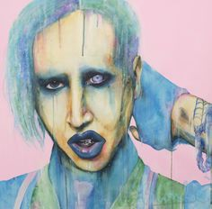 Pastel Goths by Anne 'Blondie' Bengard Exploring iconic goths in pastel colour schemes. Pastel Grunge, Pastel Goth, Pop Punk, Creepy Cute, Art For Art Sake, Pretty Pastel, Cool Art, Awesome Art, Dark Art