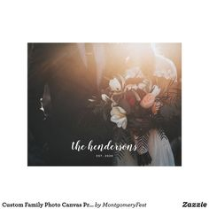 Shop Custom Family Photo Canvas Print created by MontgomeryFest. Personalize it with photos & text or purchase as is! Modern Wedding Gifts, Wedding Posters, Rainbow Roses, Vacation Pictures, Photo Canvas, Canvas Art Prints, Family Photos, Script Text, Typography