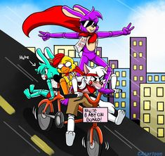 ATC Next Gens Bicycle (Draw the Squad) by CAcartoon on DeviantArt Video Games Funny, Funny Games, Fnaf Story, Animatronic Fnaf, Bicycle Drawing, Miraculous, Funny Comics, Funny Fnaf, Fnaf Freddy