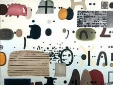 jan tarasin - Google Search Mark Making, Jaba, Printmaking, Abstract Art, Snoopy, Collage, Drawings, Fox, Pumpkin