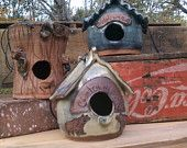Pottery Bird Feeder by moonstruckspottery on Etsy |Pinned from PinTo for iPad|