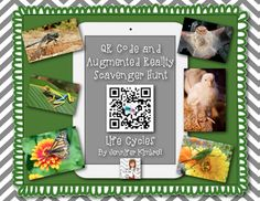 Tech with Jen: 6 Augmented Reality Apps to Engage Your Students and a Freebie Instructional Technology, Educational Technology, Science And Technology, Science Lessons, Science Fun, Science Ideas, Life Science, Augmented Reality Apps, Computer Lessons