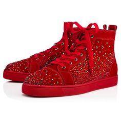 957b87d0a8a43 CHRISTIAN LOUBOUTIN Galaxtidude Flat.  christianlouboutin  shoes   Fashion  Art