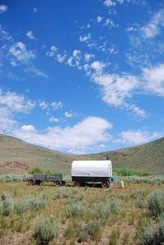 Sheep Herders' Wagon