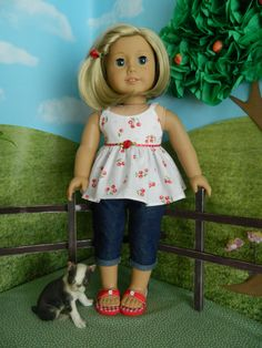 18 inch doll clothes American Girl doll clothes by SewCuteJune, $11.99