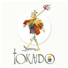 Tokaido : le messager