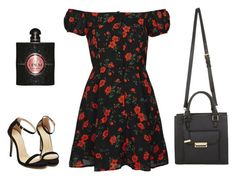 """""""Untitled #173"""" by museavenue on Polyvore featuring Topshop, Miss Selfridge and Yves Saint Laurent"""