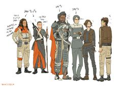 "I don't know if I should say ""poor Cassian"" or ""There is not way this would phase him...he'd take anything for Jyn."""
