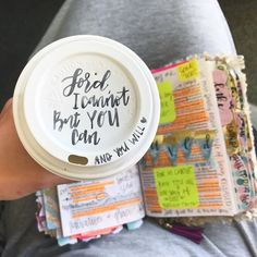 I want my bible to look like it's been on a journey of the heart. With notes, high lights, and pictures. Love The Lord, God Is Good, Bible Art, Bible Verses, Bible Notes, Scriptures, Give Me Jesus, In Christ Alone, Jesus Art