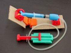 DIY 3D Printing: Kidraulic open source 3D printable toy modules #3Dprinting #toys #engineering #make