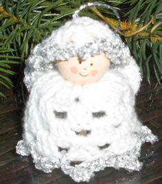 angel, crochet angel, christmas angel, jule engel, tree ornament, christmas…