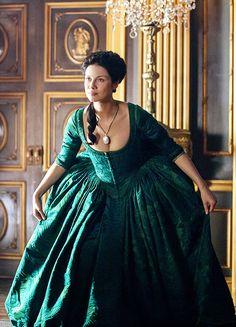Caitriona Balfe in 'Outlander' (2014).
