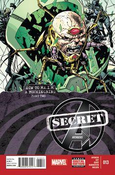 Secret Avengers #13 -- Marvel Comics -- Read on: 3/12/2014 -- Rating: 3/5
