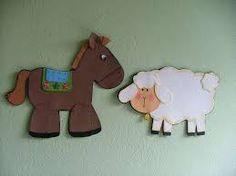 Resultado de imagem para ovelha em eva moldes
