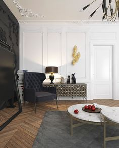 HOW STUNNING CAN A BLACK APARTMENT BE?_ see more inspiring articles at http://www.delightfull.eu/blog/stunning-black-apartment-be/