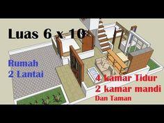 KECIIL.., RUMAH 2 LANTAI , LUAS 6 x 10 - YouTube House Plans, How To Plan, Celebrities, Kitchen, Celebs, Cooking, Kitchens, House Floor Plans, Cuisine