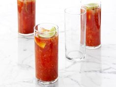 Recipe of the Day: Bobby's Brunch-Ready Bloody Mary Lemon and lime wedges add refreshing flavors to Bobby's horseradish-spiked vodka cocktail. #RecipeOfTheDay