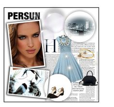 """PERSUN"" by b-mila ❤ liked on Polyvore featuring moda"
