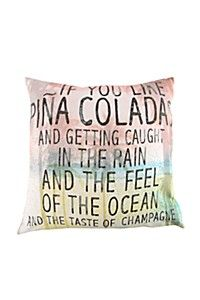 PRINTED PINA COLADA 50X50CM SCATTER CUSHION Scatter Cushions, Throw Pillows, Mr Price Home, Pina Colada, Cushion Covers, Feelings, Printed, Toss Pillows, Small Cushions