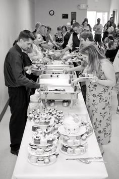 A Homey Budget Wedding Meal for 120: How the Cooking Got Done ...
