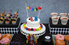 """Photo 1 of 51: Mario Kart with a touch of tassels, gumballs and color! / Birthday """"Mario Mustache Mania"""" 