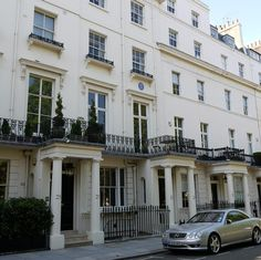The one time home of author or Frankenstein Mary Shelley, 24 Chester Square, London SW1