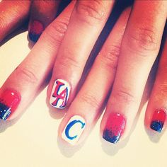 LA Clippers Nails