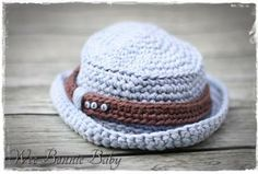 Fisherman's hat - Joshua Colour combination: Denim with Mahogany strap Fisherman's Hat, Crochet Accessories, Color Combinations, Boy Or Girl, Crochet Hats, Booty, Colour, Chain, Denim