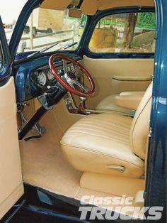 1950 Ford F1 Interior