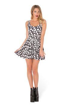 Free Spirit Scoop Skater Dress (WW 48HR $85AUD / US - LIMITED $80USD) by Black Milk Clothing