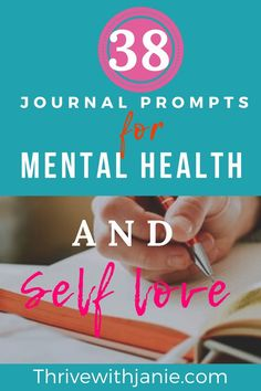 Self-love journal prompts that will help you have better mental health and personal growth and healing. These 38 prompts will guide you, help you reflect and grow, move on, and ease your mind. Practice daily journaling to heal and to grow into the person you want to be. Mental Health Journal, Mental Health Care, Improve Mental Health, Writing About Yourself, Learning To Love Yourself, Love Journal, Healthy Sleep, Mental Health Issues, Health Challenge