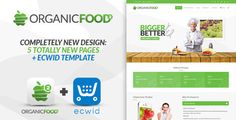 Organic Food is a clean and modern Joomla 3.X Template. It's based on Helix 3…