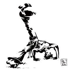 - Meia lua com queda de rins - #capoeira