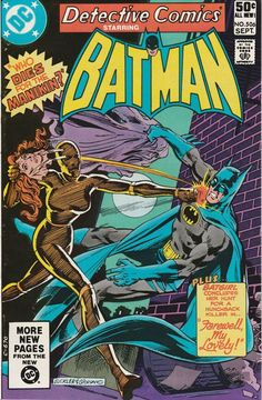 Detective Comics Vol. 45 No. 506  1981 by TheSamAntics on Etsy