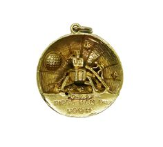 Come and explore our fine selection of vintage charms, including many rare and unusual gold and silver charms that open or move, and our vintage charm bracelets Vintage Charm Bracelet, Silver Charm Bracelet, Silver Charms, Neil Armstrong, Moon Landing, Apollo, Pocket Watch, Surface, Eagle